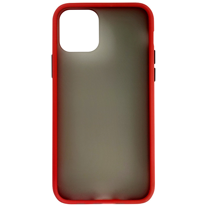 Чохол Totu Copy Gingle Series for iPhone 11 Pro Red+Black - 3