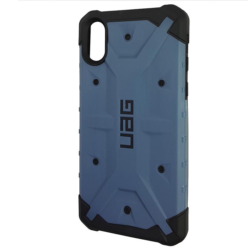 Чохол UAG Pathfinder iPhone X/XS Dark Blue (HC) - 1
