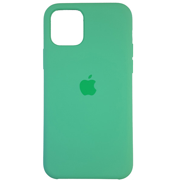 Чохол Copy Silicone Case iPhone 11 Pro Sea Green (50) - 3