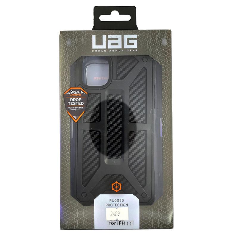 Чохол UAG Monarch iPhone 11 Black (HC) - 5