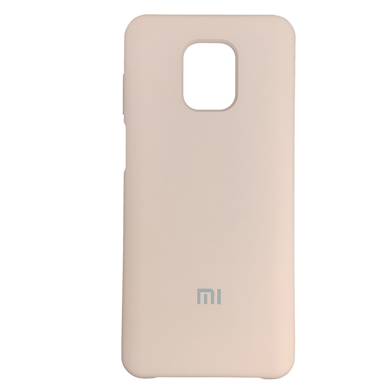 Чохол Silicone Case for Xiaomi Redmi Note 9S/9 Pro Sand Pink (19) - 1
