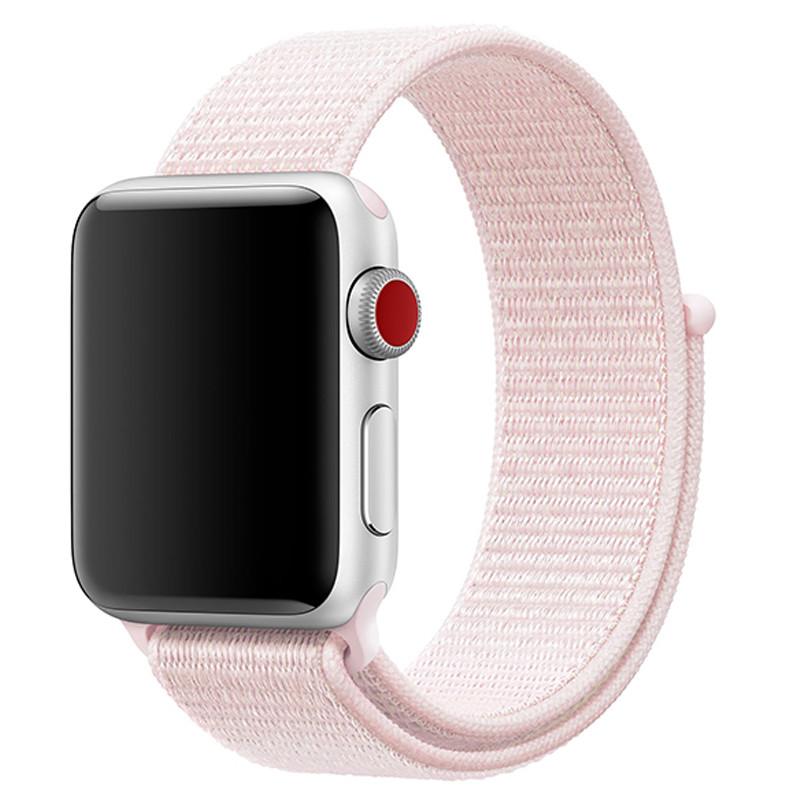 Ремінець для Apple Watch (38-40mm) Sport Loop Light Pink - 2