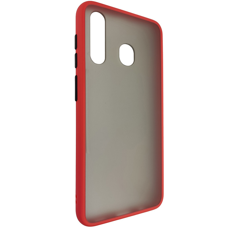 Чохол Totu Copy Gingle Series for Samsung A20/A30 Red+Black - 1