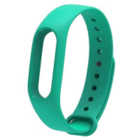 Ремінець для фітнес браслету Mi Band 2 (Silicon) Ocean Blue