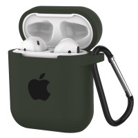 Silicone Case for AirPods Dark Olive (34)