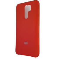 Чохол Silicone Case for Xiaomi Redmi 9 Red (14)