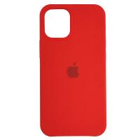 Чехол Copy Silicone Case iPhone 12 Mini Red (14)