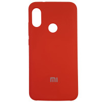 Чохол Silicone Case for Xiaomi Redmi 6 Pro Red (14)