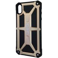 Чехол UAG Monarch iPhone XS Max Gold (HC)