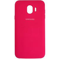 Чохол Silicone Case for Samsung J400 Fluorescence Rose (37)