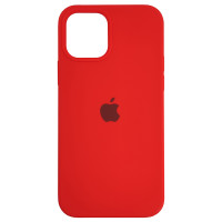 Чохол Copy Silicone Case iPhone 12/12 Pro Red (14)
