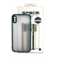 Чохол Space 2 Smoke Case for iPhone XS Green