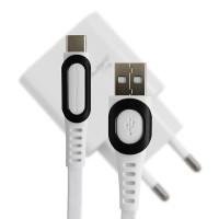 Зарядное усройство Konfulon C27 + DC03, 3A, Cable Type C