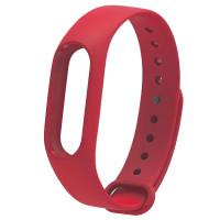 Ремінець для фітнес браслету Mi Band 2 (Silicon) Red