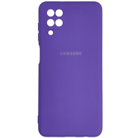 Чохол Silicone Case for Samsung A12\M12 Light Violet (41)
