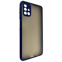 Чехол Totu Camera Protection для Samsung M31s Dark Blue