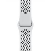 Ремінець для Apple Watch (42-44mm) Nike Sport Band White/Black