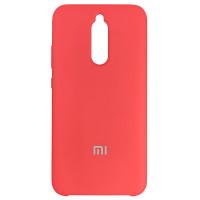 Чохол Silicone Case for Xiaomi Redmi 8 Red (14)