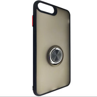 Чохол Totu Copy Ring Case iPhone 6/7/8 Plus Black+Red