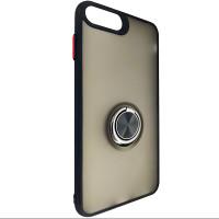 Чехол Totu Copy Ring Case iPhone 6/7/8 Plus Black+Red