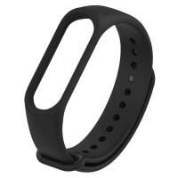 Ремінець для фітнес браслету Mi Band 3/4 (Silicon) Black