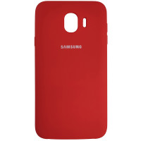 Чохол Silicone Case for Samsung J400 Red (14)