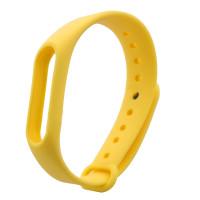 Ремінець для фітнес браслету Mi Band 2 (Silicon) Yellow
