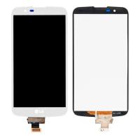 Дисплейний модуль LG K10 K410, K420N, K430DS, K430DSF, K430DSY, без мікросхеми, White