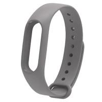 Ремінець для фітнес браслету Mi Band 2 (Silicon) Gray