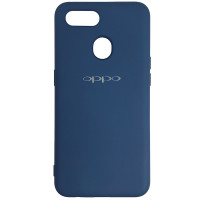 Чохол Silicone Case for Oppo A12\A7 Cobalt Blue (40)