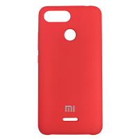 Чохол Silicone Case for Xiaomi Redmi 6 Red (14)