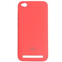 Silicone Case for Xiaomi Redmi 5A Peach Bl.Pink (29)