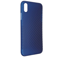 Чохол Anyland Carbon Ultra thin для Apple iPhone X/XS Blue