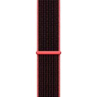 Ремінець для Apple Watch (38-40mm) Sport Loop Nike Black/Red