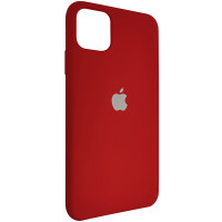 Чохол Copy Silicone Case iPhone 11 Pro Max China Red (33)