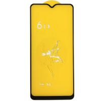 Защитное стекло Full Glue Exclusive для Oppo A15 - (0,3mm) Black