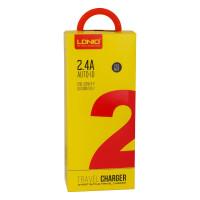 Мережевий Зарядний Пристрій LDNIO A2203 2USB 2.4A Micro White