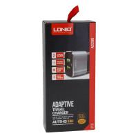 Мережевий Зарядний Пристрій LDNIO A2206 2USB 2.4A Micro Gray