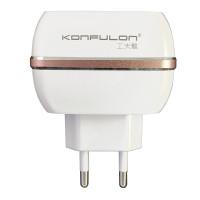 Зарядное усройство Konfulon C23 + S32, 2xUSB, 2,4A Cable Lightning