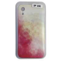 Чохол Silicone Water Print iPhone XR Mix Color Yellow