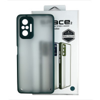 Чохол Space 2 Smoke Case for Xiaomi Redmi Note 10 Pro Green