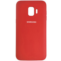 Чохол Silicone Case for Samsung J260 Red (14)