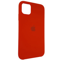 Чохол Copy Silicone Case iPhone 11 Red (14)