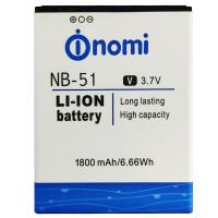 Акумулятор Original Nomi NB51 (1800 mAh)