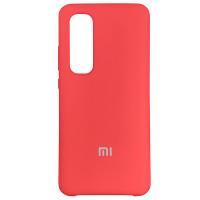 Чехол Silicone Case for Xiaomi Mi Note 10 Lite Red (14)