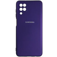 Чохол Silicone Case for Samsung A12\M12 Purple (30)