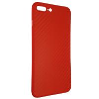 Чохол Anyland Carbon Ultra thin для Apple iPhone 7/8 Plus Red
