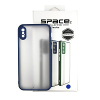 Чохол Space 2 Smoke Case for iPhone XS Blue