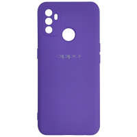 Чохол Silicone Case for Oppo A53 Light Violet (41)