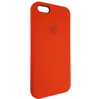 Чохол Copy Silicone Case iPhone 5/5s/5SE Red (14)
